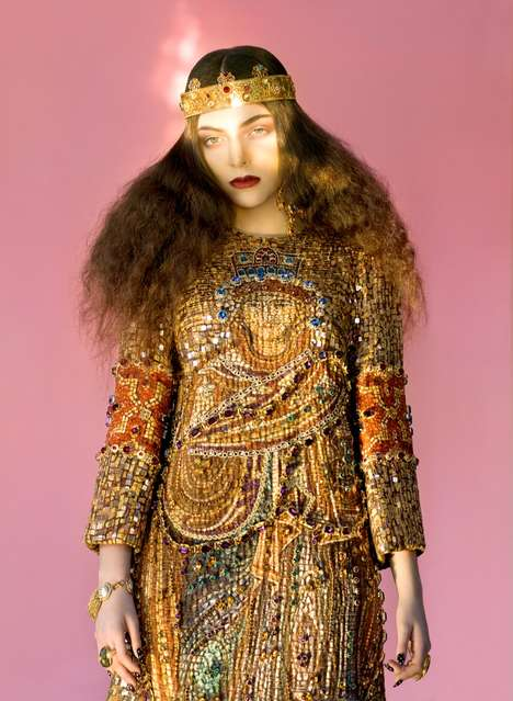 Regal It-Girl Editorials - The Wild Magazine Youth Issue Stars Recording Artist Lorde