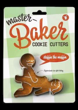 Suggestive Cookie Molds - These Naughty Cookie Cutters are Sure to Heat Up Your Kitchen