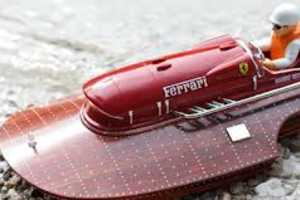 The RC Ferrari Race Boat Brings Luxury to the Seven Seas