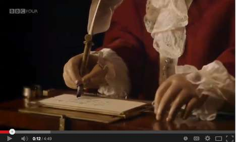 Ancient Writing Robots - Pierre Jaquet-Droz Created a 240-Year-Old Writing Automaton