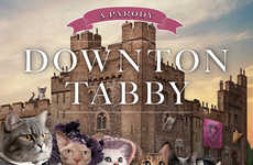 Downton Tabby is a Clever Kitty Parody Book