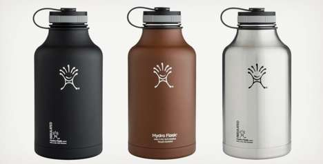 Flavor-Saving Beer Flasks - The Hydro Flask Beer Growler Keeps Your Brew Carbonated and Cold