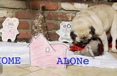 Pug-Filled Film Recreations - 'The Pet Collective' Made This Home Alone Recreation with