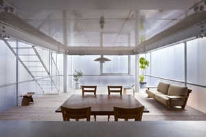 The House of Tousuien is Completely Made of Translucent Polycarbonate