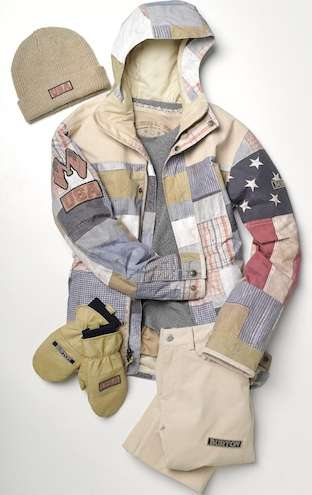 Patchwork Americana Sportswear - Burton Designs Snowboarding Outfits for the American Olympic Team