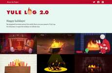 Artistic Virtual Fireplace Sites