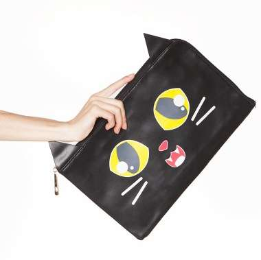 Fang-Baring Cat Clutches - This Cute Cat Purse From Pixie Market is Screaming Out for Attention