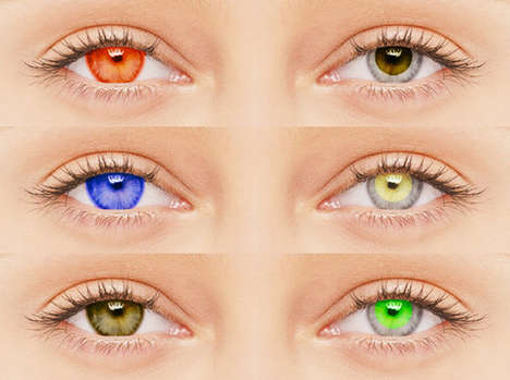 Colorful Sun-Blocking Contacts - Marietta
