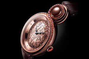 Jaquet Droz Release the 'Lady 8' Watch Shaped Like an Elegant Eight