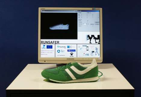 Sensor-equipped Sneakers - The Runsafer Smart Shoe Ensures People Have the Proper Running Form