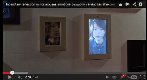 Face-Morphing Digital Mirrors - Tokyo University has Created a Mirror That Will Change Your Emotions