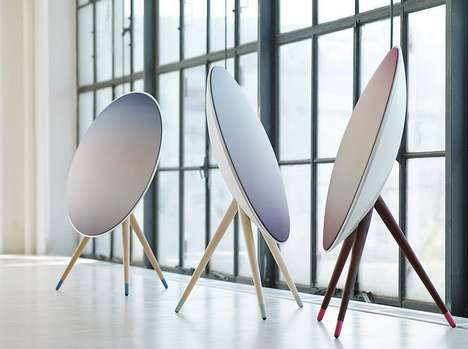 Sleek Wireless Sound Systems - The B&O PLAY A9 is a Lifestyle Statement (SPONSORED)