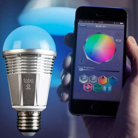 Smartphone-Controlled Lightbulbs - The Lumen is a Light Bulb that Operates With Your iPhone