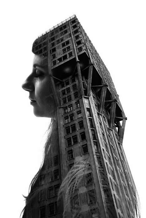 Powerfully Merging Architecture Photography - Profiles of Milan Consolidates People and Architecture