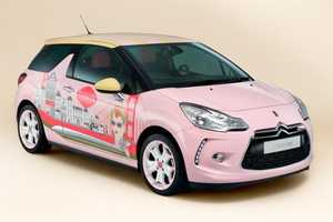 The Citroen DS3 by Benefit Cosmetics is Extra Girly