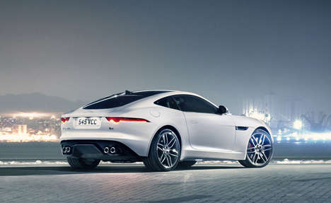 Ground-Hovering Convertibles - The New Convertible by Jaguar is Intrinsically Beautiful