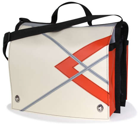 Indestructible Vinyl Valises - These Diaper Bags are Made From Indestructible Vinyl