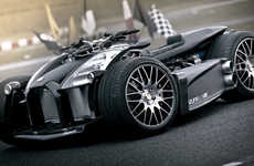 Caliper-Integrated Race Cars
