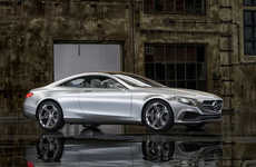 Hi-Tech Luxury Vehicles - The Latest Mercedes-Benz Concept Boasts Exciting Modern Features