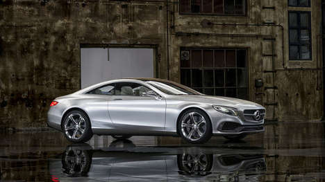 Touchscreen Concept Cars - The New Mercedes-Benz Model is a Combination of Previous Designs