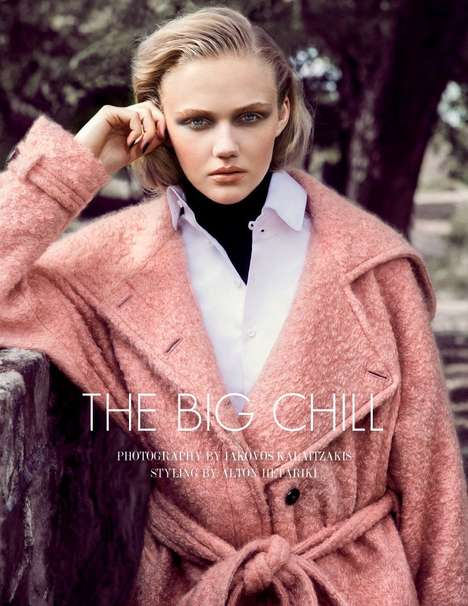 Luxe Overcoat Editorials - The Fashion Gone Rogue