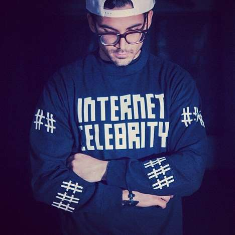Social Media Superstar Sweaters - The Internet Celebrity Tee Lets Everybody Know You're Somebo