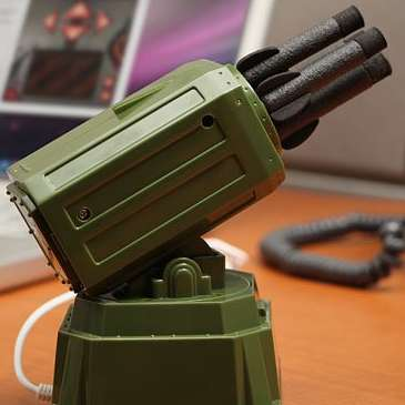 Army Office Toys - This USB Rocket Launcher Will Ward Off Jerks at Work