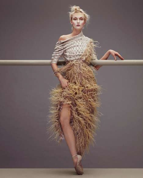 Eloquent Ballerina Editorials -
