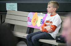Friendship-Forming Benches - An 8 Year-Old Boy Creates Buddy Bench for Lonely Classmates