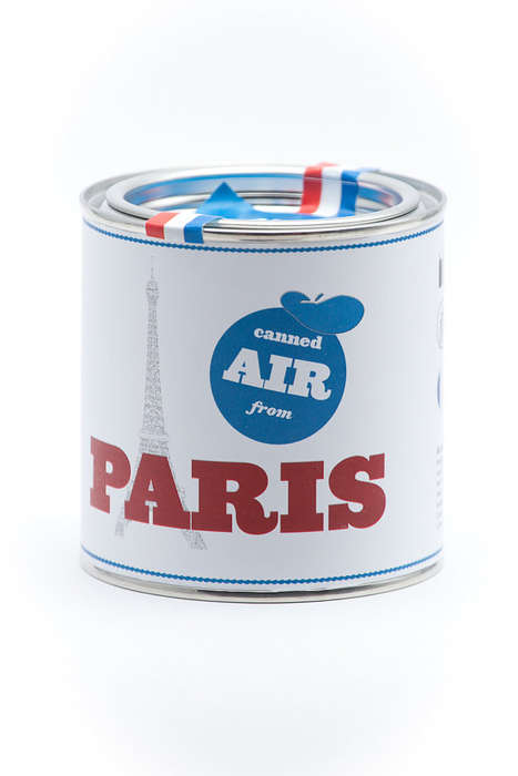 Encapsulated City Air Tins - These Novel Can of Air Tins Bring Out the Best of a City
