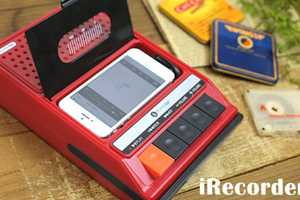 The iRecorder is a Retro Music Player for iPhones