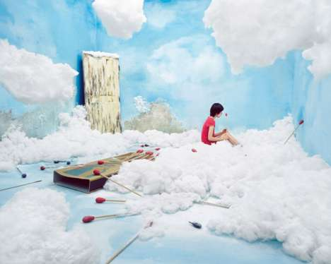 Real Life Fantasy Art - Artist Jee Young Lee Transforms Her Studio in 'Stage of Mind'