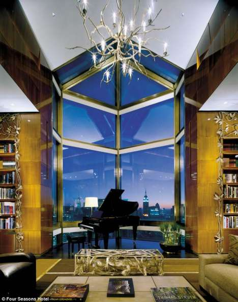 17 Luxurious American Accommodations - Luxurious American Hotels Offer a Lavish Stay in the City