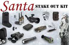 Santa Hunt Stakeout Equipment - The Santa Stakeout Kit Has Everything You Need to Catch St. Nick