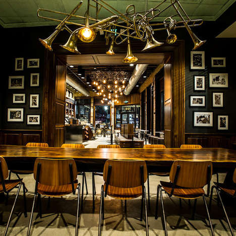 Apothecary-Inspired Coffee Shops - The New Orleans Starbucks Looks Like an Old-Fashioned Pharmacy