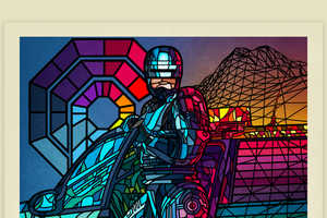 Designer Van Orton is Behind These Stained Glass 80's Film Posters