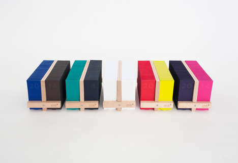 Multifunctional Date Keepers - The Memo Calendar 2014 by Milk Design is Colorful and Contemporary