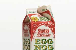 Madeleine Eiche's Eggnog Project Documents Artsy Eggnog Carton Designs