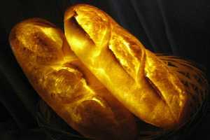 These Pampshade Bread Lights are Made from Actual Baked Goods