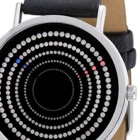 Hypnotic Orbiting Watches - The Concentra Watch Has a Circular Path to Tell Time