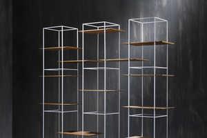 Gilad Designed a Flexible Shelving System for His TT Furniture Line