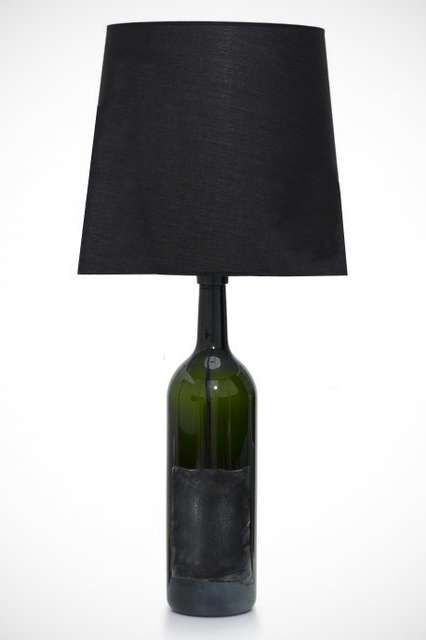 Luxe Wine Lamps - This Wine Bottle Lamp from Designer Maison Martin Margiela is a Drinker's Dr