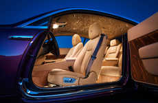 Cosmic Car Interiors - The Fiber Optic Sky Inside the Rolls-Royce Wraith Can be Customized