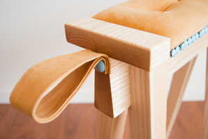 The Eyore Stool Takes a Curious Form, Inspired by the Crafting Process