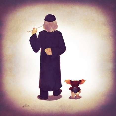 Parental Pop Culture Portraits - Andry Rajoelina Renders Famous Characters as Adorable Families