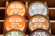 Beer-Infused Soap Bars