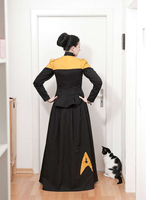 Formal Sci-Fi Frocks - These Star Trek Dresses are Both Beautiful and Geeky