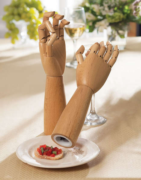 Grabby Salt Shakers - These Salt and Pepper Shakers Look Like Mannequin Arms