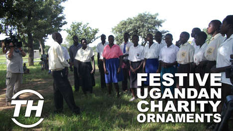 Festive Ugandan Charity Ornaments - Children of Hope Uganda Supports Over 600 Children