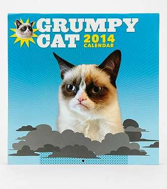 Iconic Meme-Inspired Calendars - The 2014 Grumpy Cat Calendar is Filled with Attitude